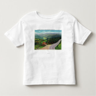 Whitcomb Summit of Deerfield River Valley Toddler T-shirt