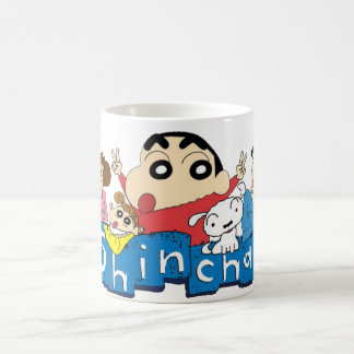 White 11 oz Classic White Mug shinchan desaint