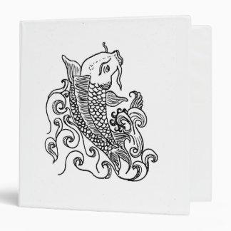 White 1 1/2 inch 3 ring binder