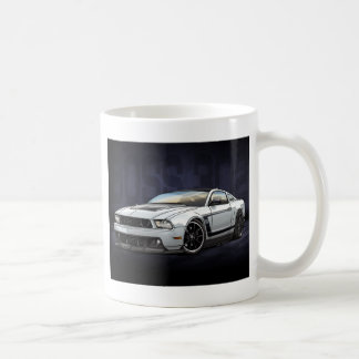 White 2012 Boss 302 Coffee Mug