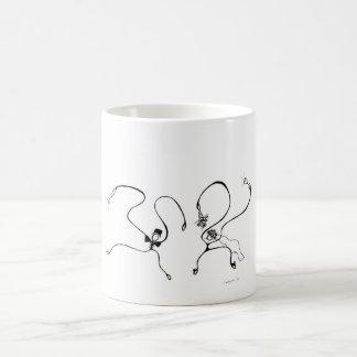 White 325 ml  Classic White Mug. The Wedding. Coffee Mug