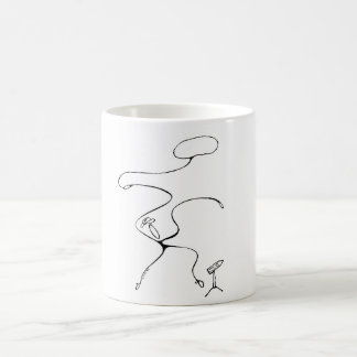 White 325 ml  Classic White Mug. Yee Ha. Coffee Mug
