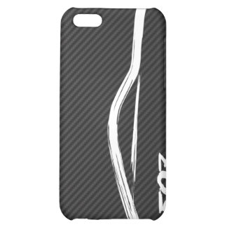 White 350z Brush Stroke iPhone 5C Covers