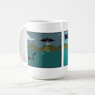 White 444 ml Mug - Close Encounters and Jaws
