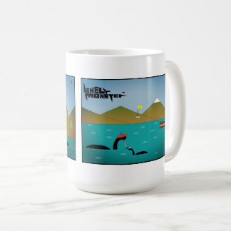 White 444 ml Mug - Fishing and Terrible Golfer