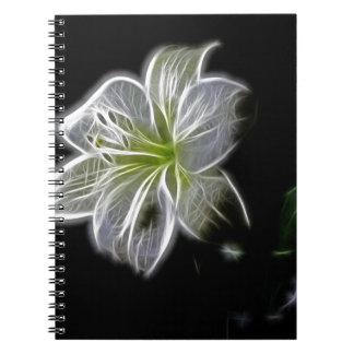white-82698 white lily flower nature beauty digita note book