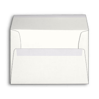 White A7 Envelope