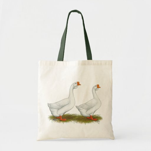 White African Geese Budget Tote Bag