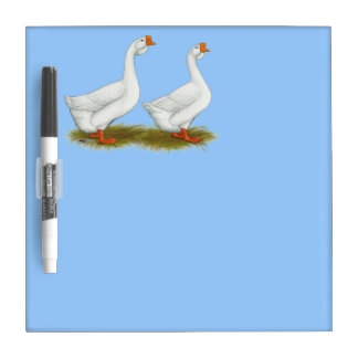 White African Geese Dry Erase Whiteboard