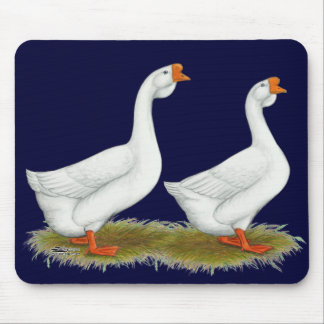 White African Geese Mouse Pad