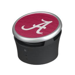 White Alabama A Bluetooth Speaker