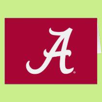 White Alabama A Card