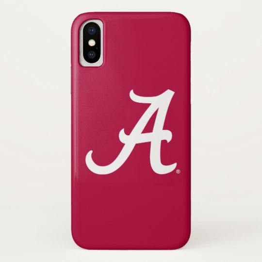 be0bc1ef922 White Alabama A Case-Mate iPhone Case