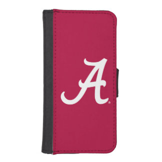 White Alabama A iPhone SE/5/5s Wallet