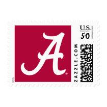 White Alabama A Postage