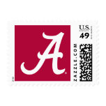 White Alabama A Postage Stamp