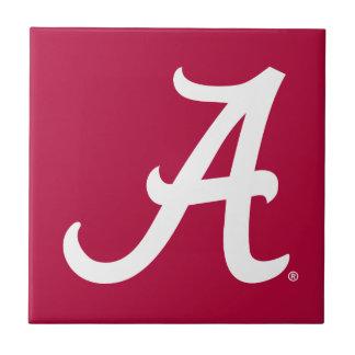 White Alabama A Tile