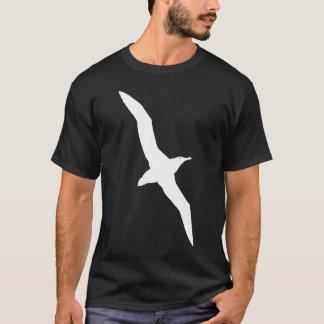 White Albatross In Flight Graphic T-Shirt