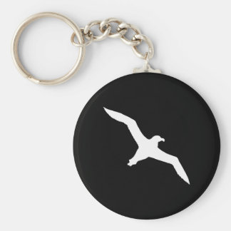 White Albatross Keychain