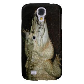 White Albino Alligator Photo , Gator  Image Samsung S4 Case