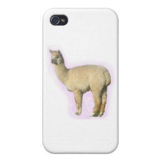 White Alpaca iPhone 4/4S Case