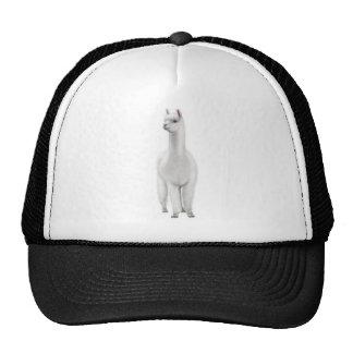 White Alpaca Trucker Hat