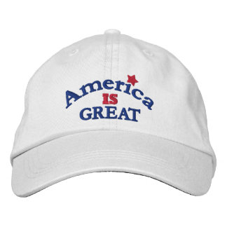 White America Is Great Adjustable Hat