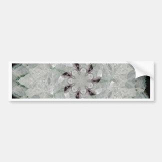 White Amethyst Swirl Bumper Sticker