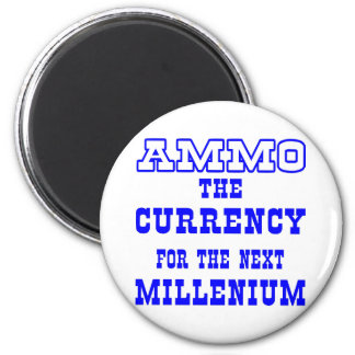 White Ammo Currency Next Millenium Magnet