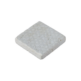 White Anchors Glacier Gray Background Pattern Stone Magnet
