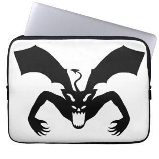 White And Black Devil Computer Sleeve