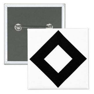 White and Black Diamond Pattern Buttons