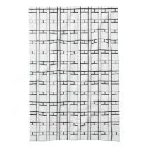 White and Black Intersections Kitchen Towel