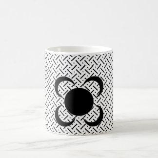 White And Black Plaid Magic Mug