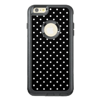 White and Black Polka Dot Pattern OtterBox iPhone 6/6s Plus Case
