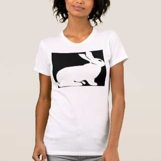 White and Black Rabbit T-Shirt