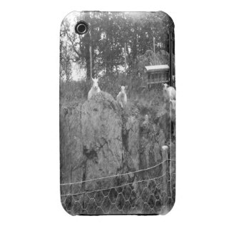 White and black sheep drawing iPhone 3 cover