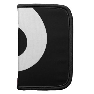 White and Black Twirl Planner