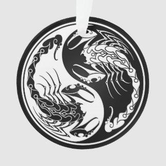 White and Black Yin Yang Scorpions