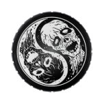 White and Black Yin Yang Zombies Candy Tins
