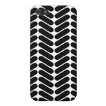 White and Black Zig Zag Pern. iPhone 5 Covers
