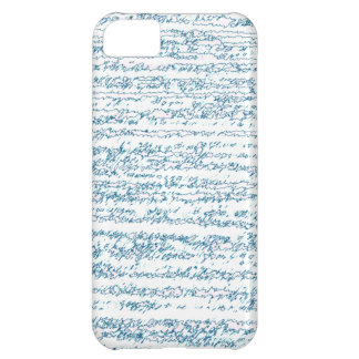 White and Blue Ripped iPhone 5C Cover