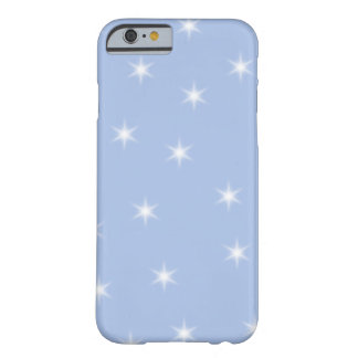 White and Blue Stars Design. iPhone 6 Case
