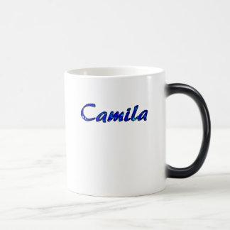 White and Blue Tea Mug for Camila