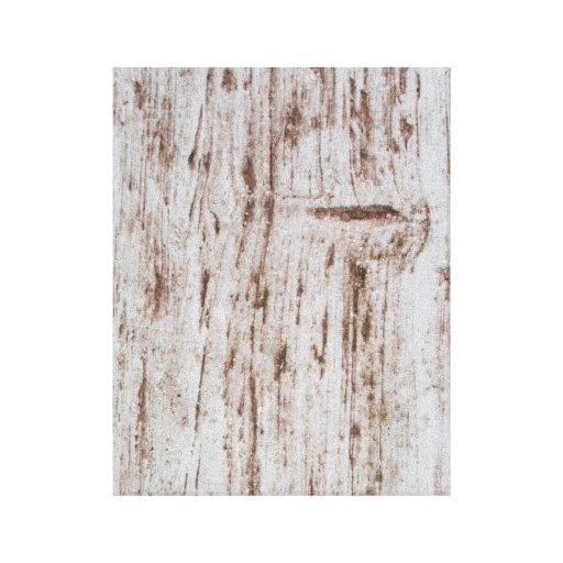 White and Brown wooden board Gallery Wrap Canvas