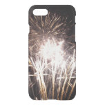 White and Gold Fireworks I Patriotic Celebration iPhone 7 Case