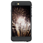 White and Gold Fireworks I Patriotic Celebration LifeProof NÜÜD iPhone 6 Plus Case