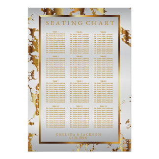White and Gold Marble - Seating Chart (12)