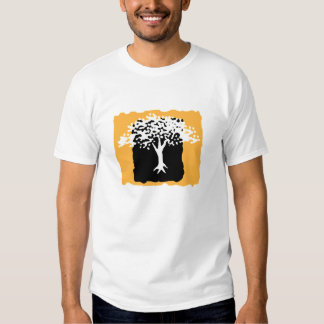 White and Gold Tree Reunion T-shirt