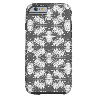 White and Gray Anther Filament iPhone 6 Case